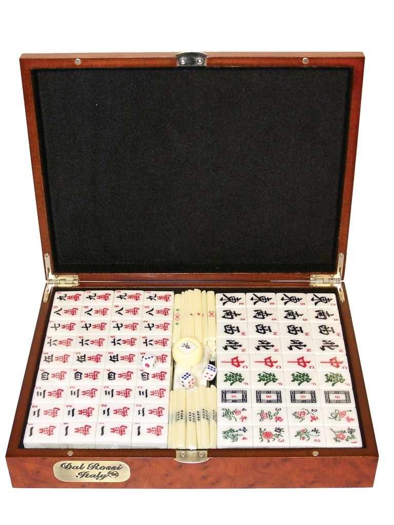 deluxe dal rossi mahjong set gifts and games new zealand online shop. Black Bedroom Furniture Sets. Home Design Ideas