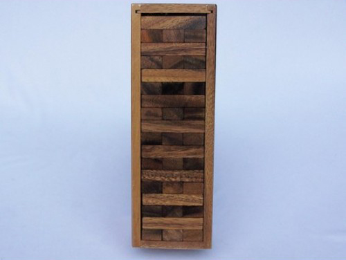 Jenga in a wooden Box - Gifts and Games New Zealand Online ...