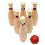 The Great Garden Games Co. Garden Skittles Set