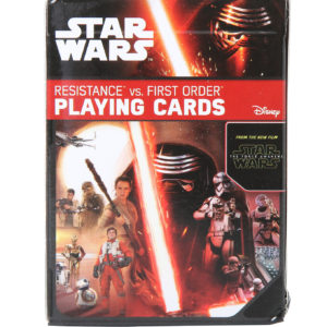 Star Wars The Force Awakens Playing Cards