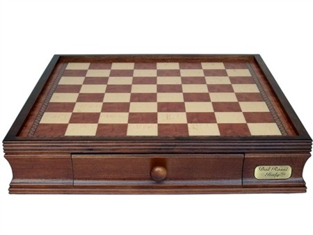 "Dal Rossi 16"" Chess BOX ONLY With Two Drawers"